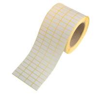 لیبل کاغذی 20*10 رول 10000 عددی