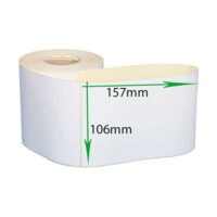 لیبل کاغذی 157*106 رول 500 عددی مارکتمون