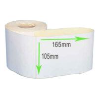 لیبل کاغذی 165*105 رول 1000 عددی